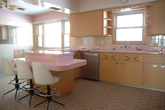 1950s Kitchen. Would You Remodel?